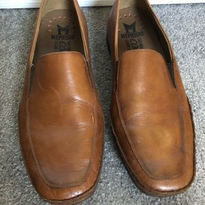 Mephisto Cool Air men's size 8.5 brown loafers